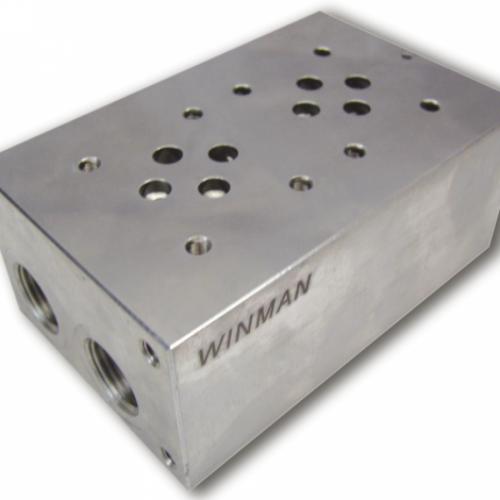 Winman Hidrolik Ng 6 Çelik Valf Pleytleri – Sağ Sol Çıkışlı Düz Emniyetsiz